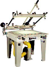 THE kpx MANUAL PRECISION SCREEN PRINTING MACHINE (A8)
